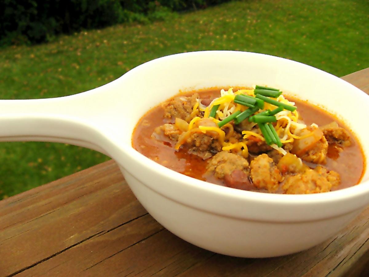 Spicy Chorizo, Beef, and Bean Chili | okie dokie artichokie