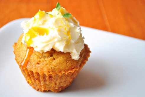 Cardamom-Spiced Apple and White Cheddar Cupcakes with ...