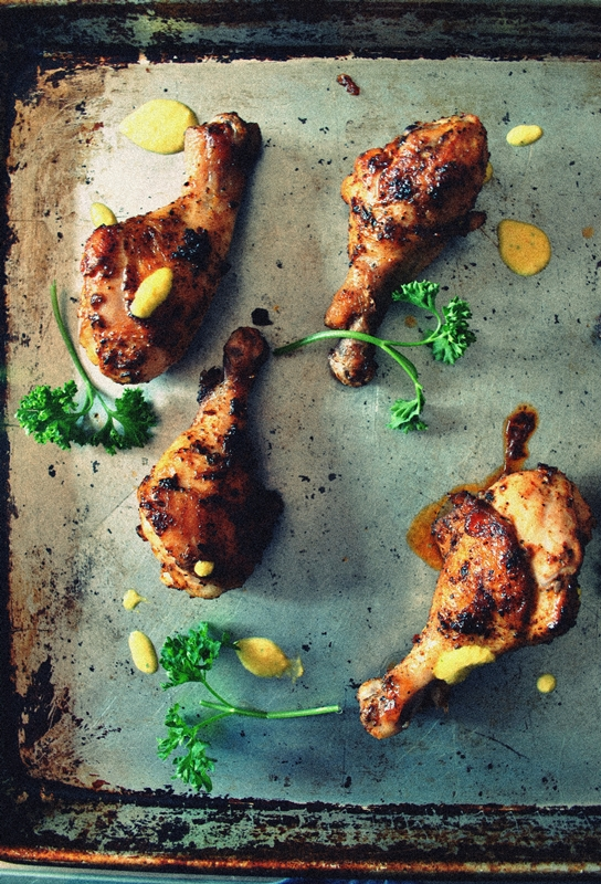 Peruvian Style Grilled Chicken With Green Sauce Recipes — Dishmaps