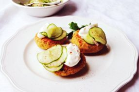 Chickpea Patties with Smoked Paprika